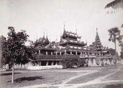 The Queen's Golden Monastery, [Mandalay]